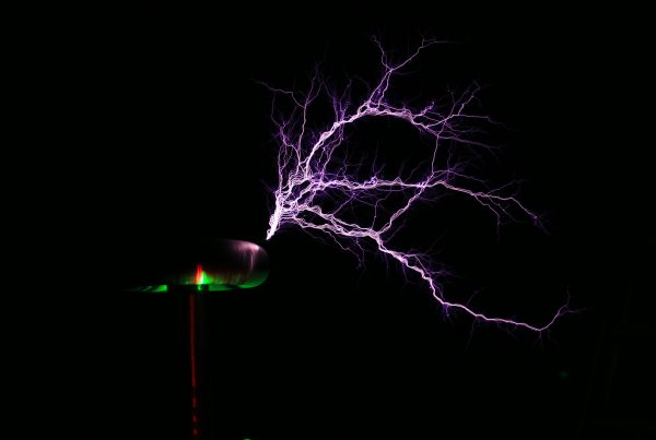 chime red's tesla coil